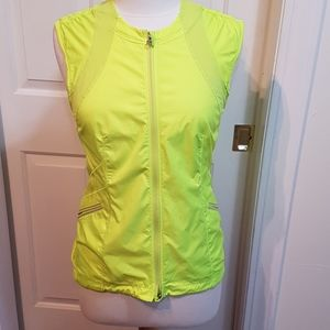 Lululemon high vis running vest